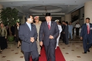 Saman with H.E. Susilo Bambang Yudhoyono