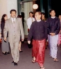 Saman Sarathchandra greets and welcomes Prime Minister of the Union of Myanmar H.E. Soe Win  (2006)