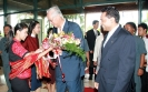 Saman Sarathchandra welcomes Senior Minister of the Republic of Singapore H.E.  Goh Chok Tong