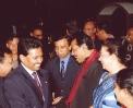 """BE THE BEST YOU CAN BE FOR THAT MOMENT"" Saman Sarathchandra in a dinner banquet attended by HE President of democratic socialist republic of SriLanka in 2004"