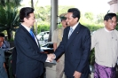 Saman Sarathchandra greets H.E Mr. Nguyen Tan Dung, Prime Minister of the Socialist Republic of Vietnam