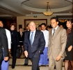 Hotel GM Saman Sarathchandra greets and welcomes FIFA President Joseph. S. Blatter