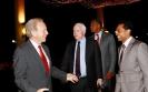 """ Dreams you never thought you'd dream""Saman Sarathchandra with Mr Joe Liberman &  Mr. John McCain"